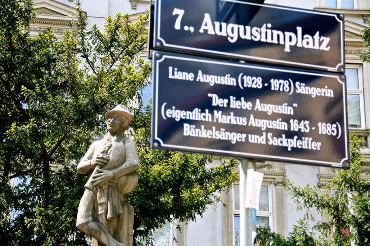 Der liebe Augustin Augustinsplatz (c) STADTBEKANNT