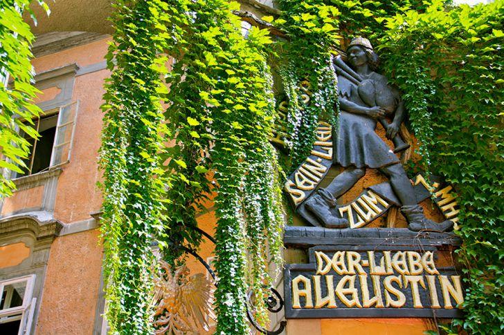 Der liebe Augustin Griechenbeisel (c) STADTBEKANNT