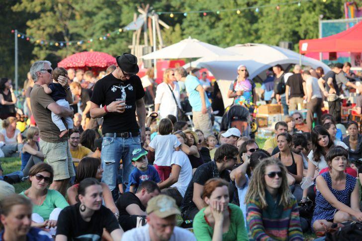 Volksstimmefest 2013 Gäste (c) Volksstimmefest