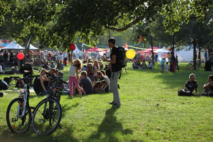 Volksstimmefest 2013 Wiese (c) Volksstimmefest