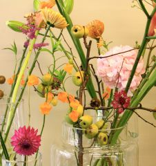 Blumengestalten Blumenstrauch (c) STADTBEKANNT Nohl