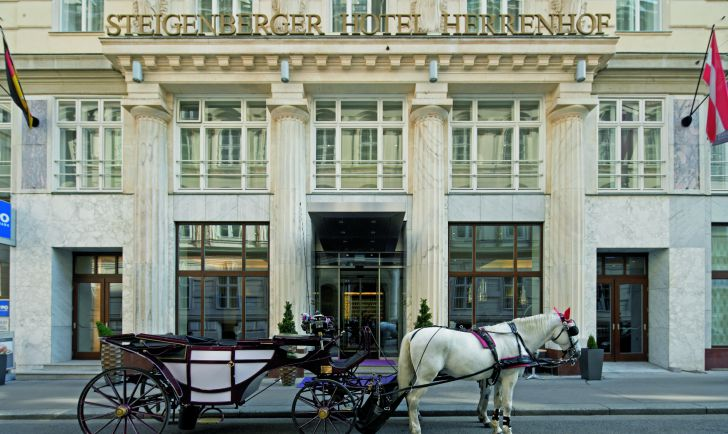 Hotel Steigenberger Herrengasse Fiaker (c) Steigenberger