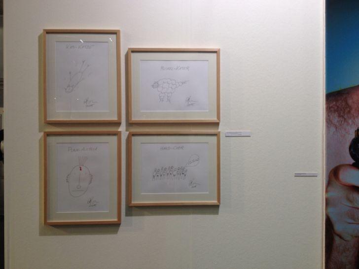 Alf Poier Kunst Viennafair (c) Hofinger STADTBEKANNT