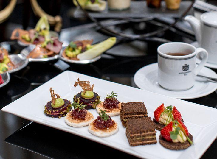 Hotel Bristol Afternoon Tea (c) Hotel Bristol