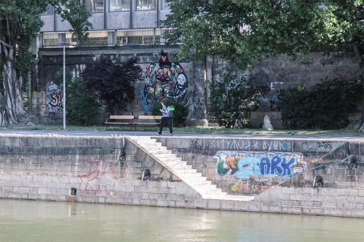 Laufen am Donaukanal (c) STADTBEKANNT