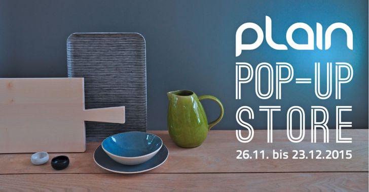 PLAIN Pop Up Store