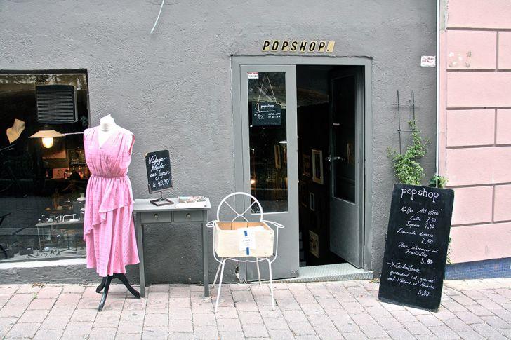 Popshop Eingang (c) STADTBEKANNT Nohl