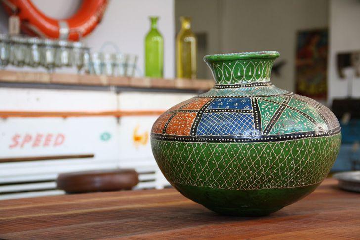 Indigo Express Vase (c) STADTBEKANNT