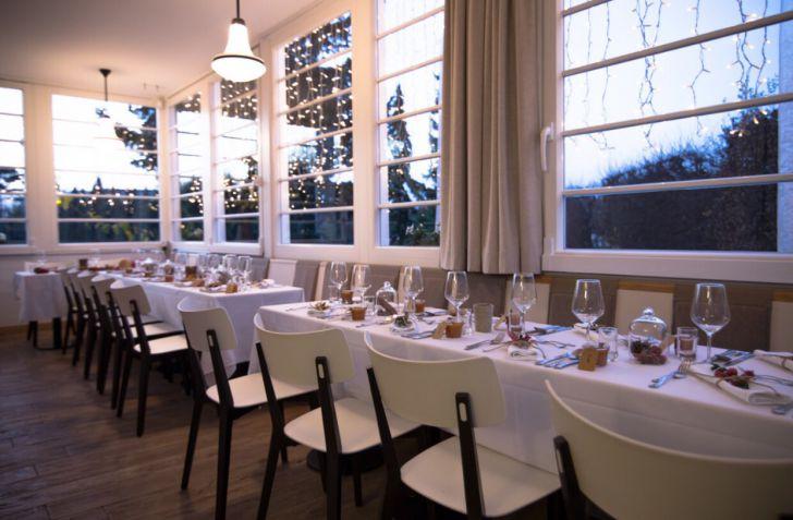 Landtmanns Jausenstation Winter Tafel (c) Querfeld's Wiener Kaffeehaus GesmbH