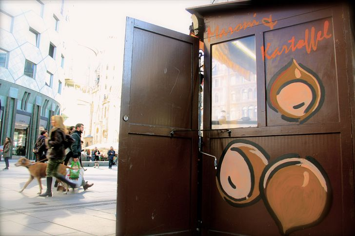 Maronistand in Wien (c) STADTBEKANNT Nohl