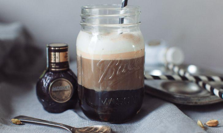 Mozart Schokoladenlikör Ombré Coffee
