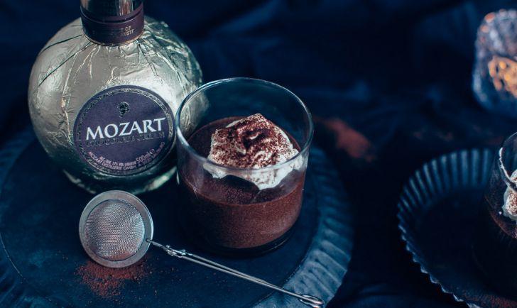 Mozart Schokoladenlikör Mousse