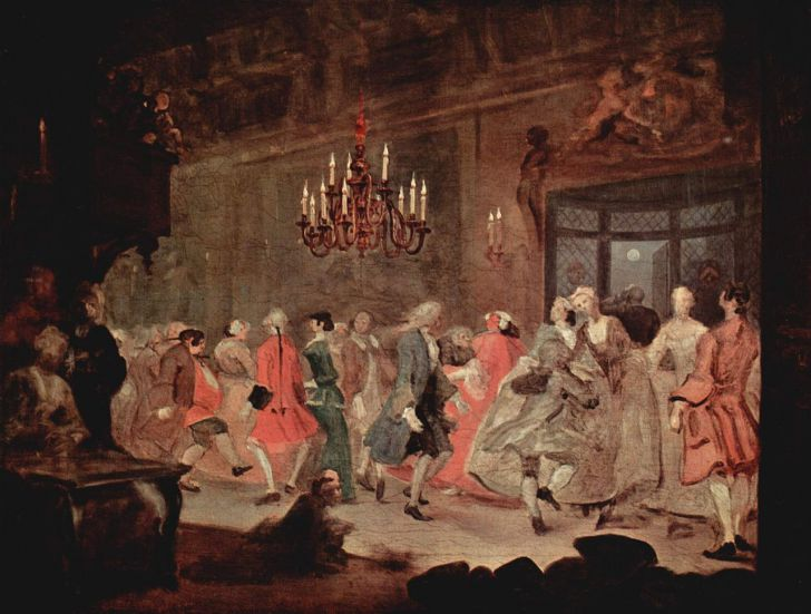 Tanzball William Hogarth