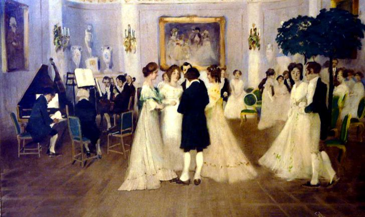 Im Ballsaal Wilhelm Schreuer