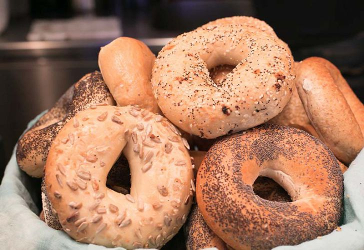 Pure Living Bakery Bagels (c) Pure Living Bakery