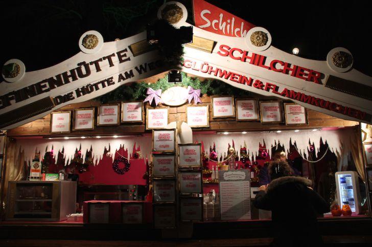 Weihnachtsdorf AKH Josefinenhütte Schilcher Glühwein (c) STADTBEKANNT Hofinger