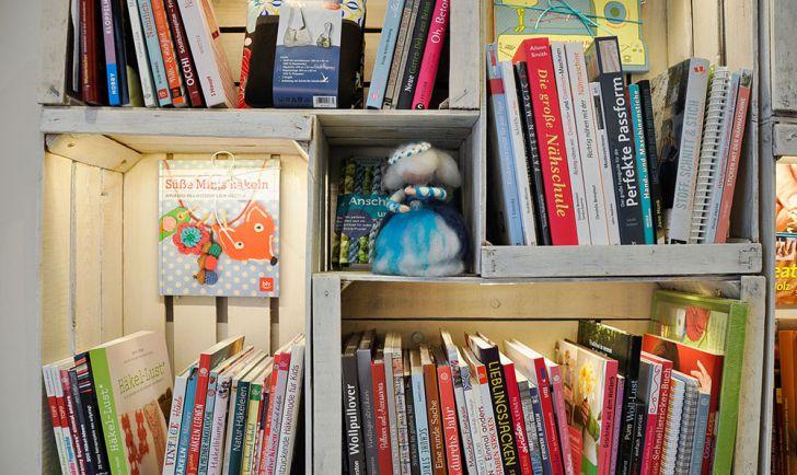 Werkbuchcafé Bücher (c) STADTBEKANNT