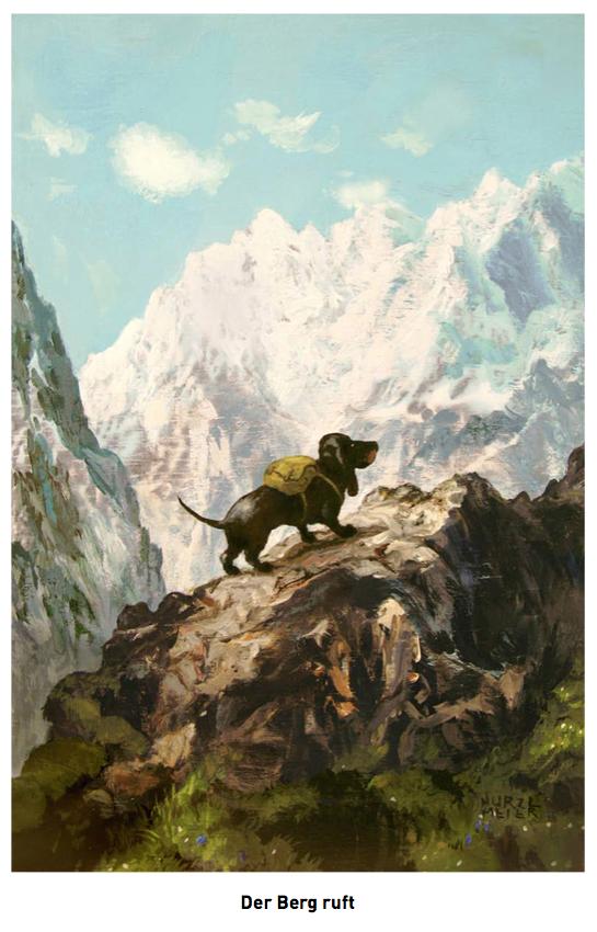 Der Berg ruft (c) Rudi Hurzlmeier