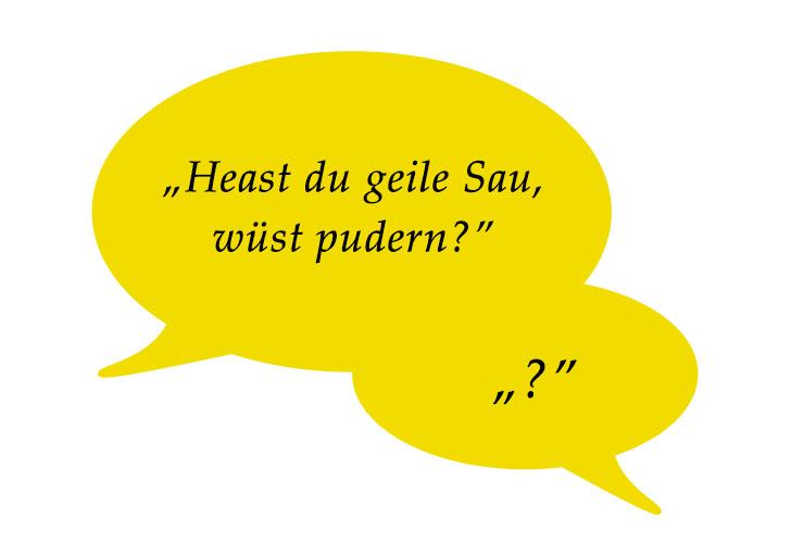 Wienerisch - Pudern (c) STADTBEKANNT