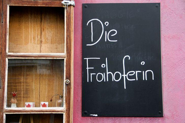 Die Froihoferin Eingang (c) STADTBEKANNT Wetter-Nohl