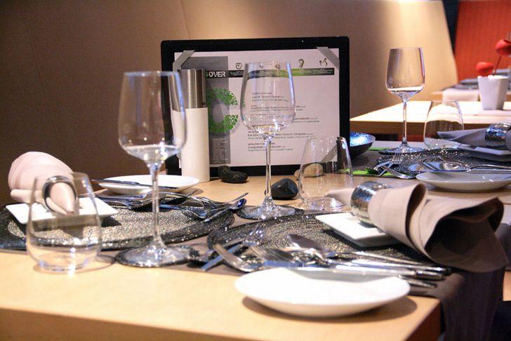 Five Senses Bar & Restaurant Gedeck (c) STADTBEKANNT Wetter-Nohl
