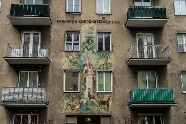 Vorgartenstraße Brigittenau (c) STADTBEKANNT Zohmann