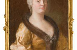 Maria Theresia im pelzverbrämten Kleid (c) Dauerleihgabe der Österreichische-Nationalbank, A. E. Koller für SKB