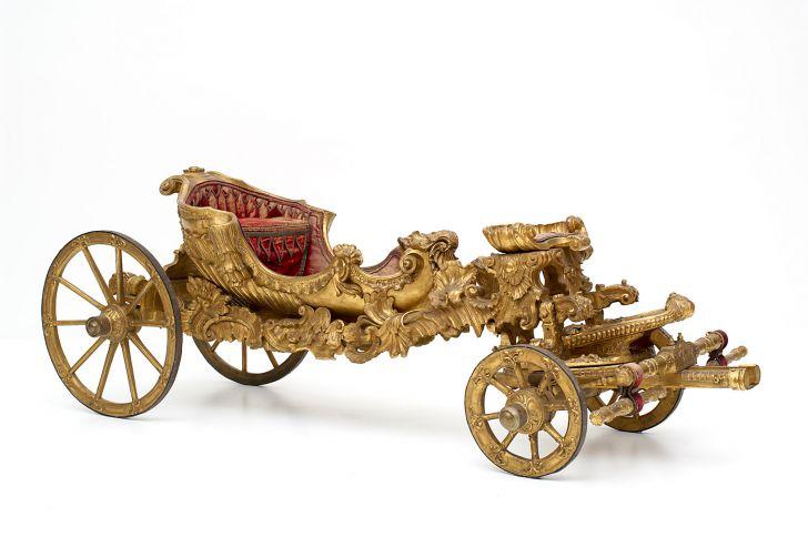 Karussellwagen Maria Theresias 1742 (c) KHM, Kaiserliche Wagenburg