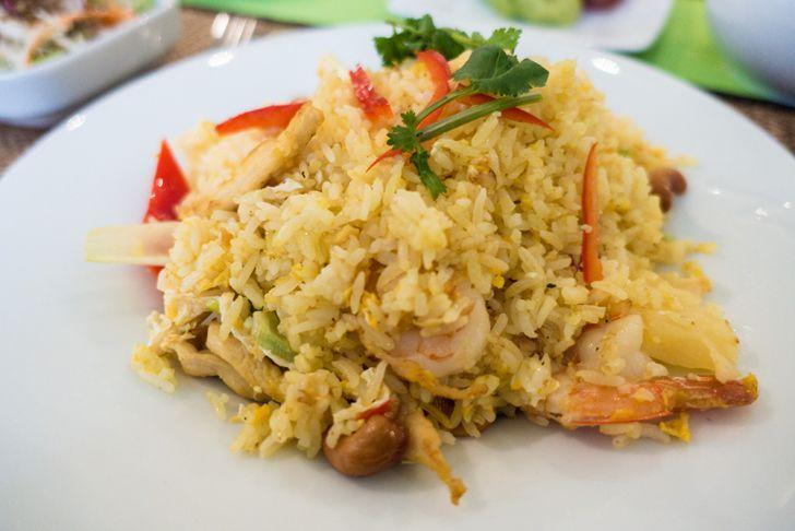 Thai Kitchen Eier Reis thailändisches Menü (c) STADTBEKANNT