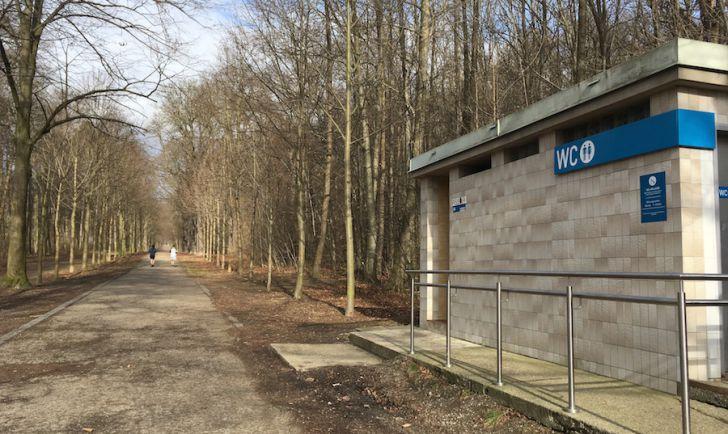 Laufroute 9 - Schwarzenbergallee WC (c) STADTBEKANNT