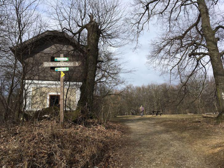 Laufroute 15 - Hameau höchster Punkt (c) STADTBEKANNT