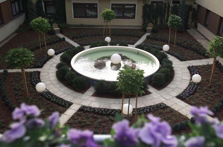 Meditationsgarten (c) Kurhaus Marienkron