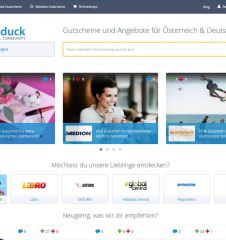 Screenshot Saleduck.com