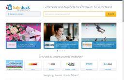 Screenshot Saleduck.com