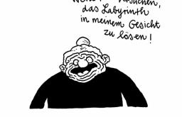 Cartoons zum Ruhestand (c) Holzbaum Marco Finkenstein