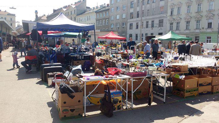 Flohmarkt am Hannovermarkt (c) STADTBEKANNT Kantner