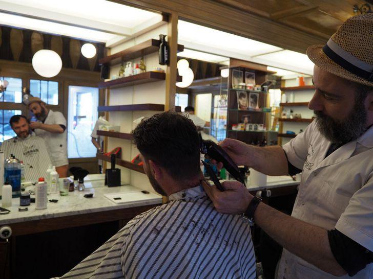 Giller & Co Wiener Barbiere Haarschnitt (c) STADTBEKANNT Pitzer