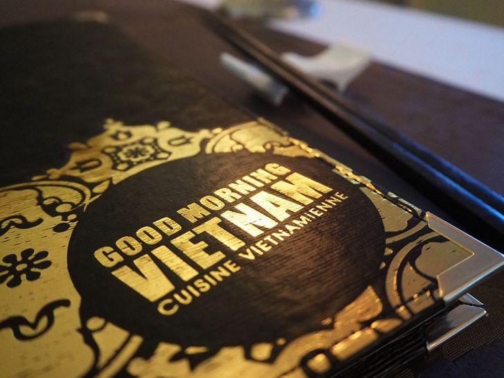 Good Morning Vietnam Speisekarte (c) STADTBEKANNT Pitzer