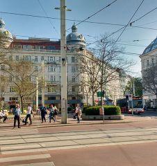 Wallensteinplatz Straße (c) STADTBEKANNT Kantner