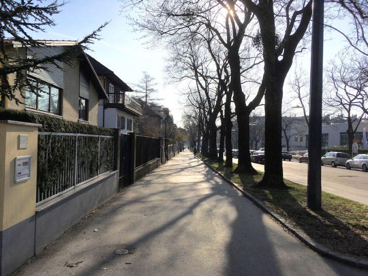 Alszeile Laufstrecke Hernals (c) STADTBEKANNT