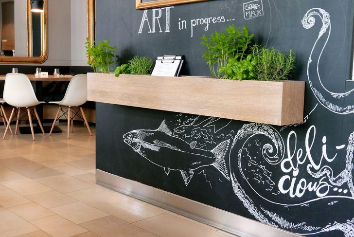 Café Restaurant Depot Art in progress (c) STADTBEKANNT Wetter-Nohl