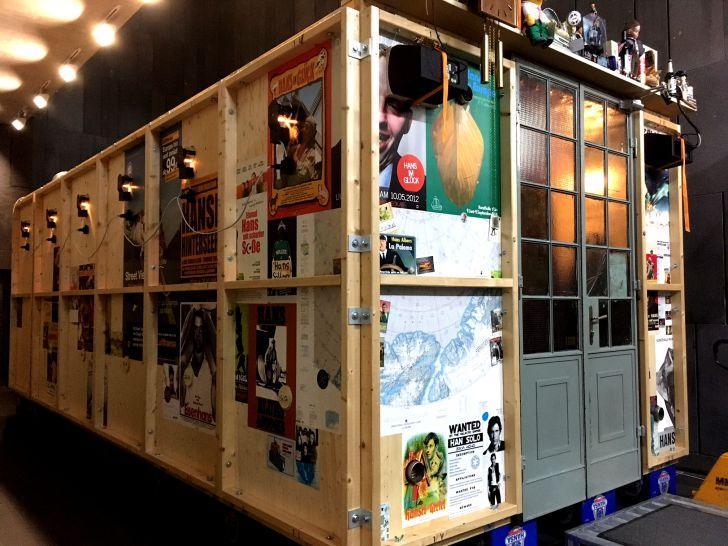 Cafe Bar Hansi mumok Container (c) STADTBEKANNT