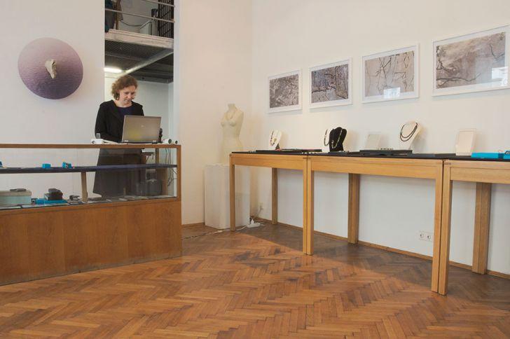 Tina Polisoidis Atelier (c) STADTBEKANNT Kerschbaumer