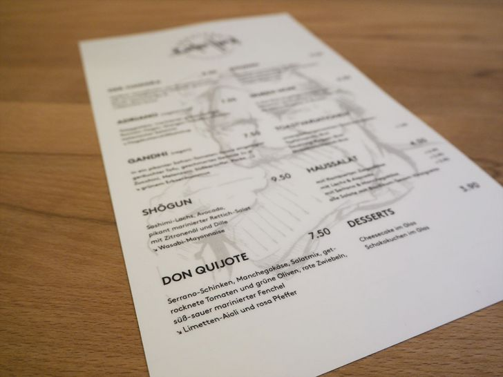 Toasterei Bunter Hund Karte (c) STADTBEKANNT Pitzer