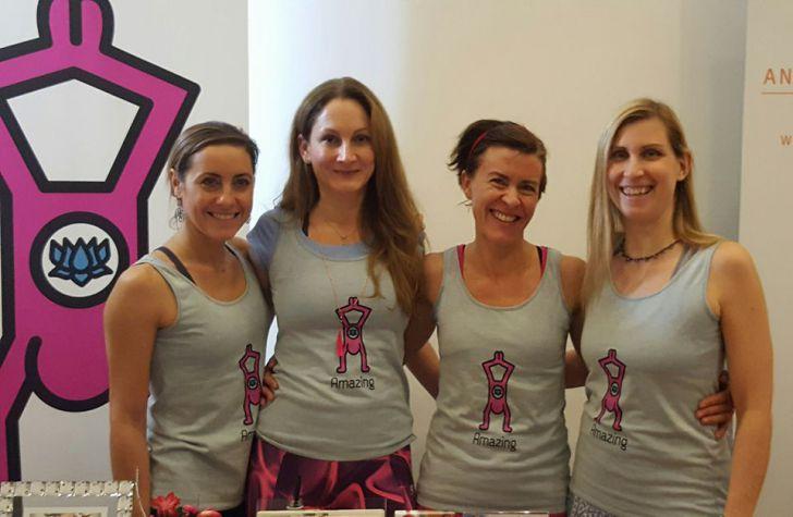 Yoga Team (c) Amazing Yoga