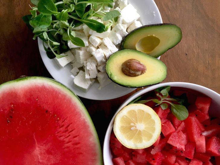 Feta Wassermelone Avocado (c) STADTBEKANNT