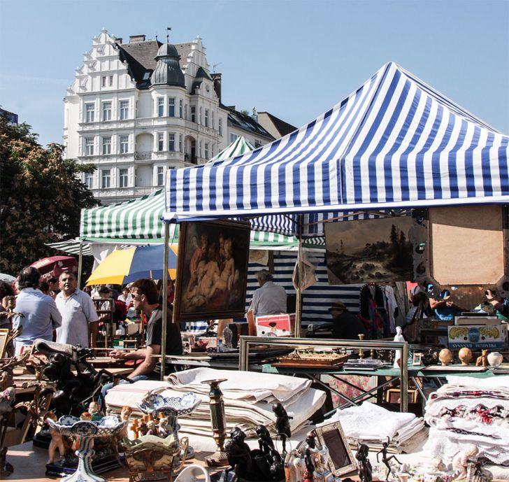 Naschmarkt Flohmarkt (c) STADTBEKANNT