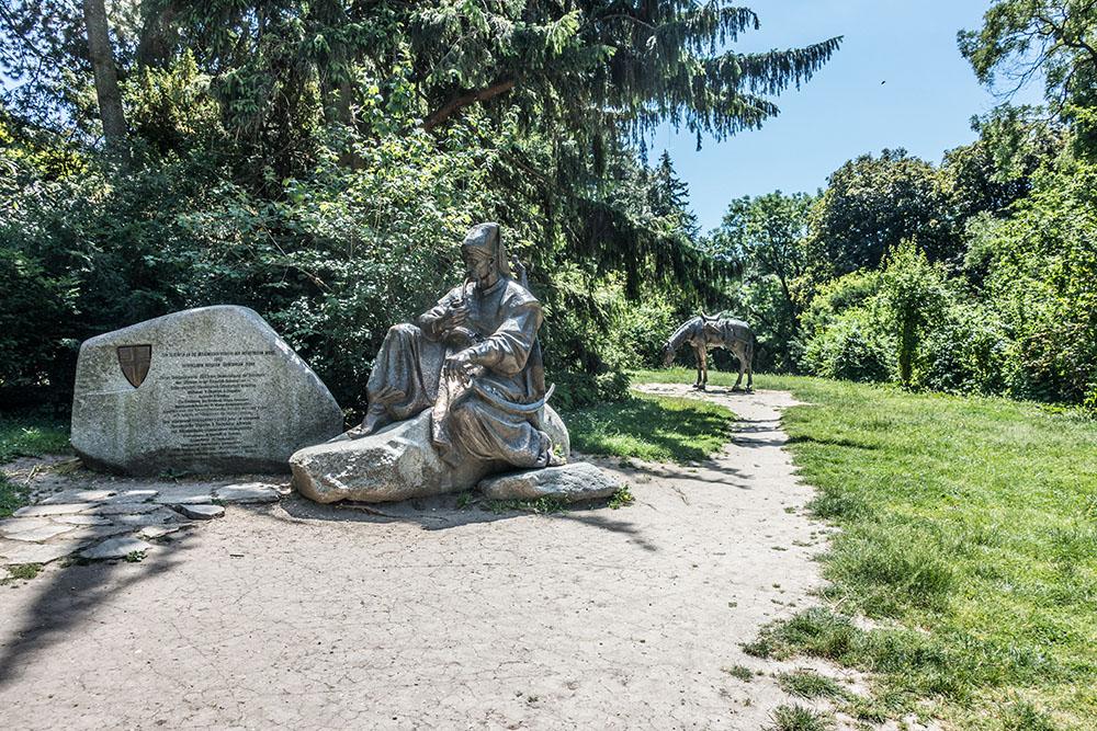Türkenschanzpark Türkische Statue (c) STADTBEKANNT