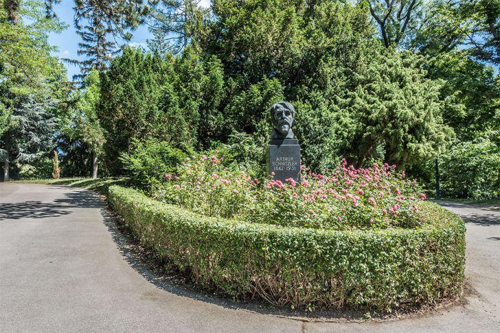 Türkenschanzpark Arthur Schnitzler (c) STADTBEKANNT
