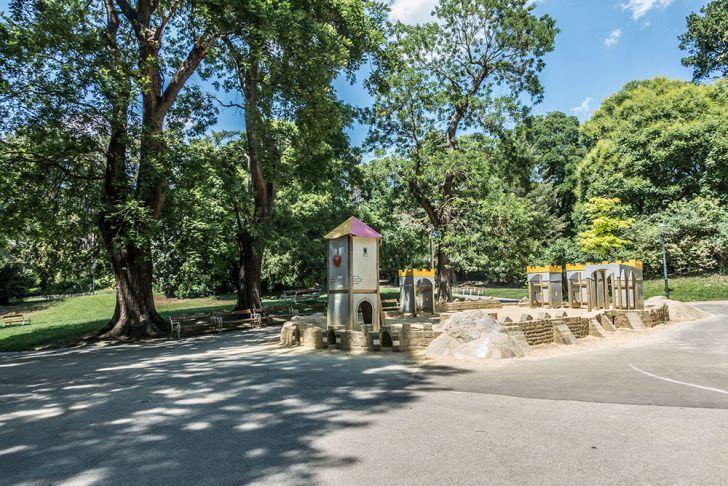 Türkenschanzpark Sandburg (c) STADTBEKANNT